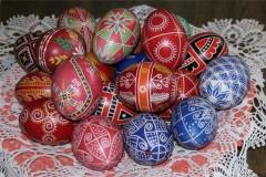 Вариант оформления яиц