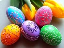 Дизайн пасхальных яиц