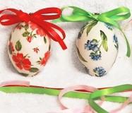 яйца с лентами