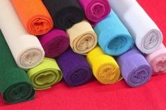 крепированная цветная бумага