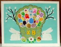 детская пасхальная открытка 1
