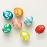 яйца с листьями