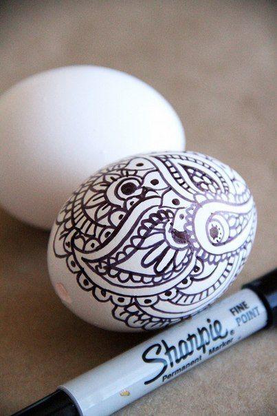 рисунок маркером
