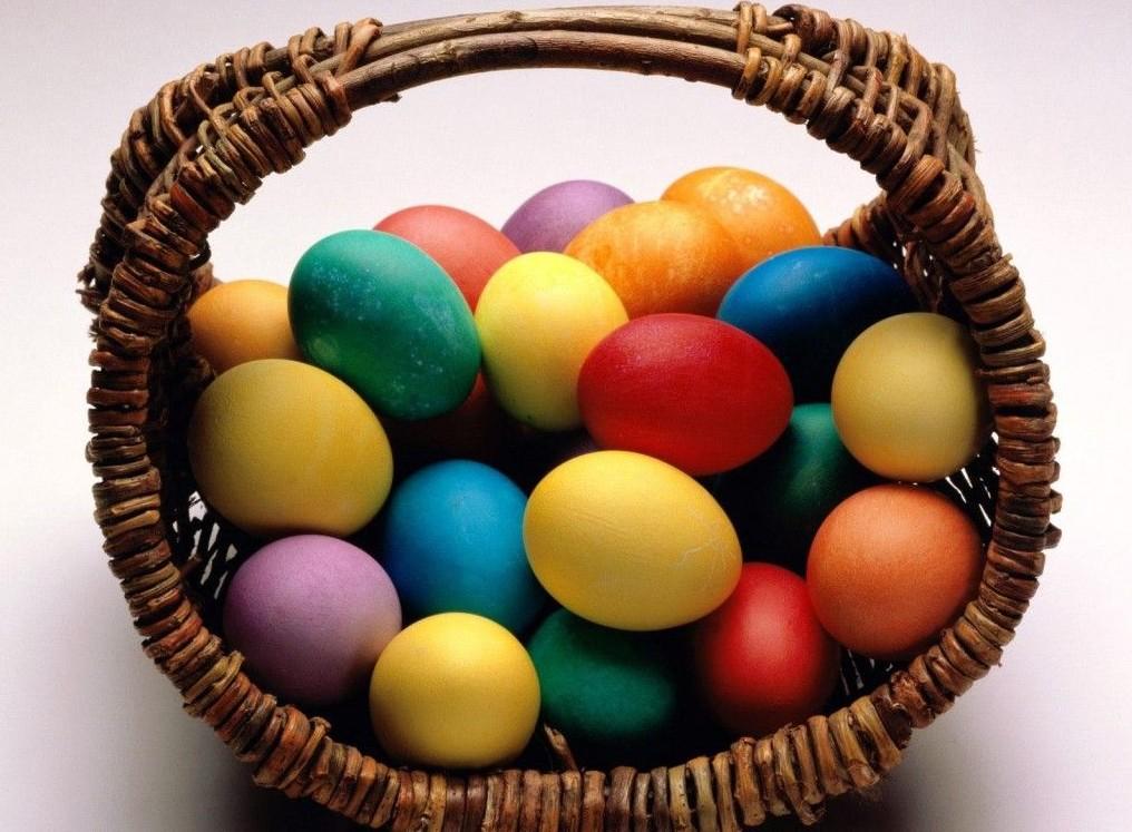 яйца для пасхи