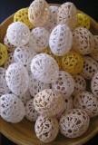 яйца из ниток