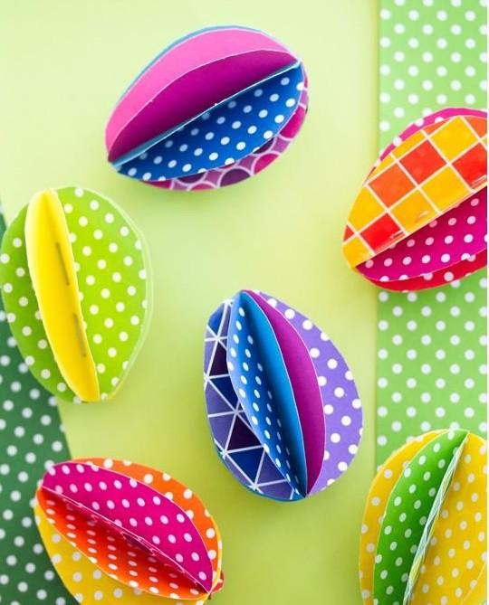 яйца из бумаги