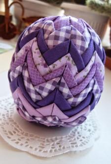 яйцо артишок фиолетовое